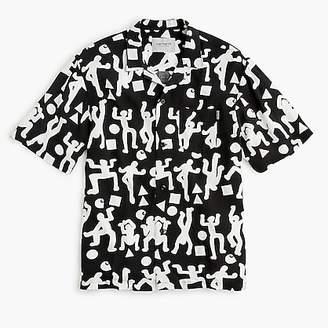 J.Crew Carhartt® Work In Progress short-sleeve world party shirt