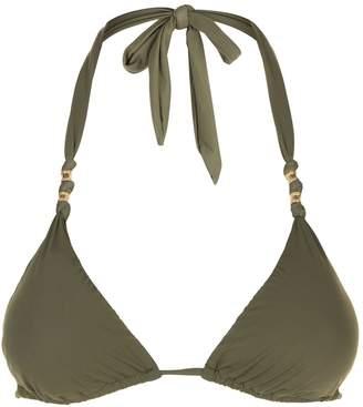 Vix Triangle Halterneck Bikini Top