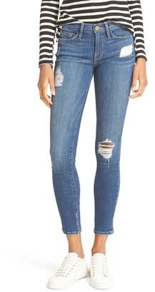 Women's Frame 'Le Skinny De Jeanne' Jeans $239 thestylecure.com