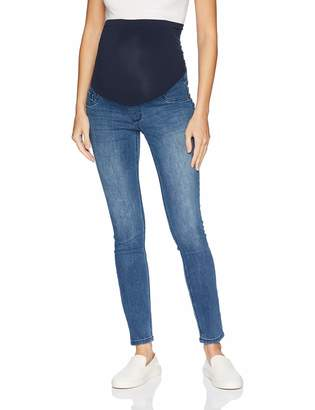 Motherhood Maternity Women's Petite Super Stretch Secret Fit Belly Skinny Leg Denim Jean