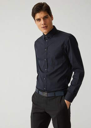 Emporio Armani Stretch Cotton Shirt