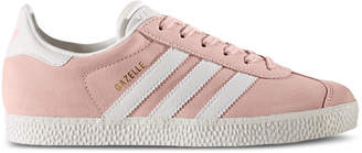 adidas Girls' Gazelle Casual Sneakers from Finish Line $64.99 thestylecure.com