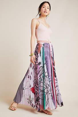 04ec76f0f73afb Geisha Designs Junie Pleated Maxi Skirt