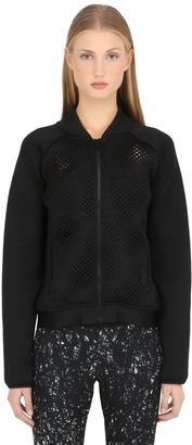 Mesh Bomber Jacket $108 thestylecure.com
