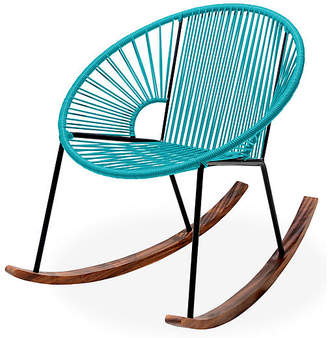 Mexa Ixtapa Rocking Chair - Turquoise