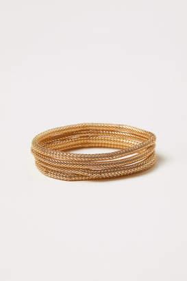 H&M 4-pack Bracelets - Gold