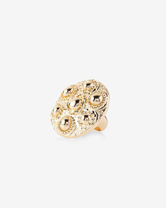 Express Textured Cocktail Ring