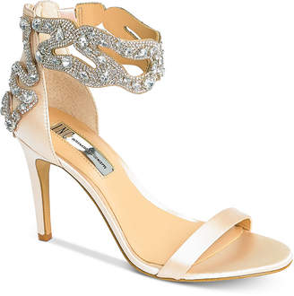 INC International Concepts I.n.c. Raizel Ankle Strap Sandals, Created For Macy's Women's Shoes