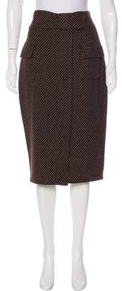 Diane von Furstenberg Wool Knee-Length Skirt