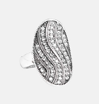 Avenue Oval Wave Ring