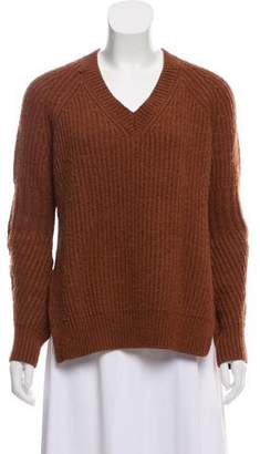 AllSaints Wool-Blend Knit Sweater