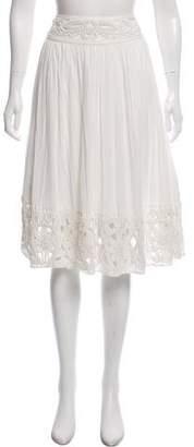 Alice + Olivia Embellished Knee Length Skirt w/ Tags