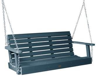 highwood Weatherly Porch Swing 4ft Nantucket Blue