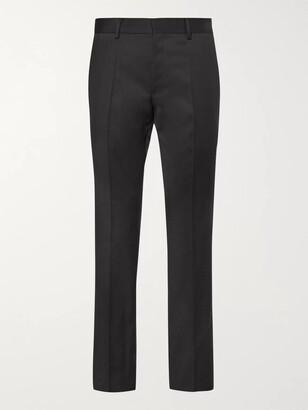 HUGO BOSS Grey Gibson Slim-Fit Virgin Wool Suit Trousers - Men - Gray