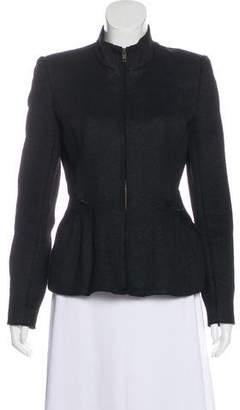 Theyskens' Theory Textured Zip-Up Jacket