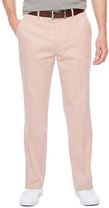Jf J.Ferrar Stretch Adobe Rose Slim Fit Suit Pants