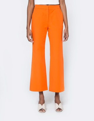 Cropped Flared Trousers $149 thestylecure.com