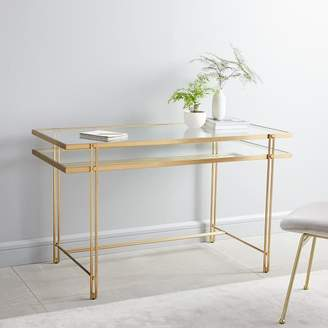 west elm Fulton Desk - Antique Brass