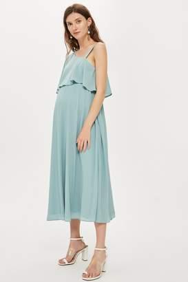 440069b27400 Topshop Womens **Maternity Nursing One Shoulder Dress - Mint