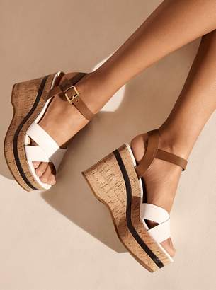 MICHAEL Michael Kors Chandler Cork Wedge