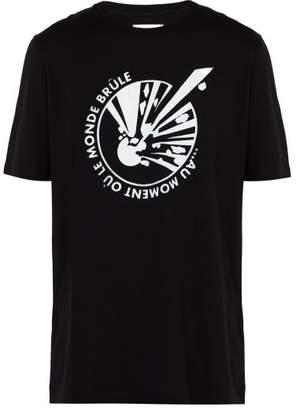Faith Connexion Explosion Oversized Cotton T Shirt - Mens - Black