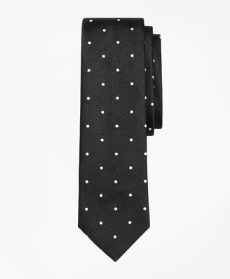 Brooks Brothers Dot Slim Tie