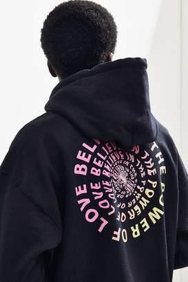 Urban Outfitters Power Of Love Hoodie Sweatshirt
