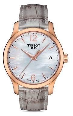 Tissot Tradition Lady Rose Gold Quartz Watch, 33mm