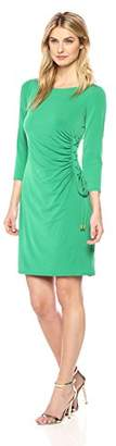 Jessica Howard Women's Laceup Sheath Dress