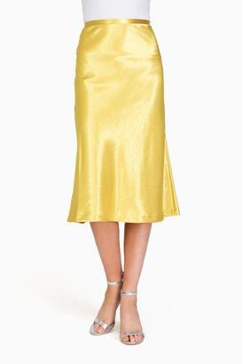 Style Mafia Gold Croacia Skirt $129 thestylecure.com