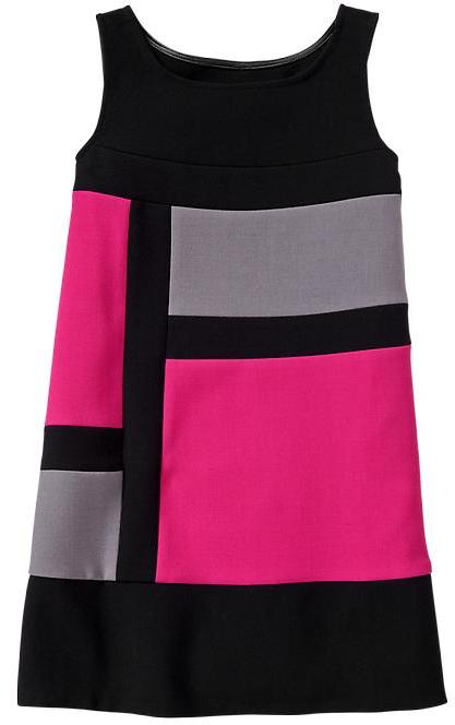 Gap Colorblock shift dress