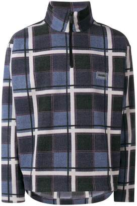 Martine Rose Napa By T-Nevis Print Check jumper