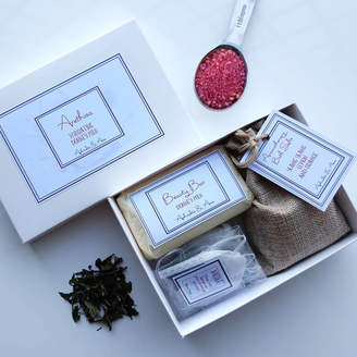 Aphrodite & Ares 'Arethusa' Spa And Tea Personalised Gift