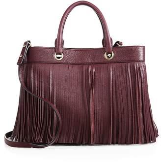 Milly Women's Essex Fringe Leather Satchel