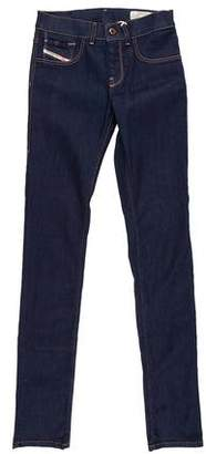 Diesel Livier Mid-Rise Jeans w/ Tags