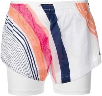 Nike multicolour striped shorts