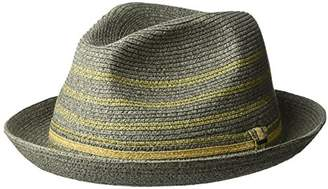 Bailey Of Hollywood Men's Lichter Braided Stripe Fedora Hat