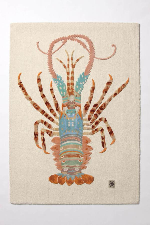Spiny Lobster Rug