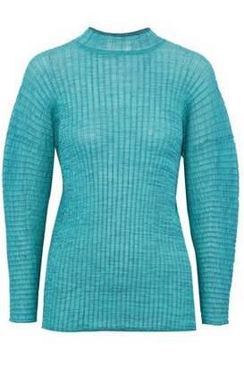 M Missoni Crochet Cotton-Blend Sweater