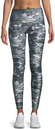 Onzie High-Rise Camo-Print Performance Leggings