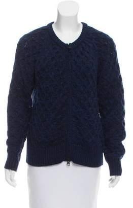 Etoile Isabel Marant Wool Zip-Up Cardigan