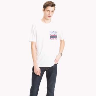 Tommy Hilfiger Floral Block Pocket T-Shirt