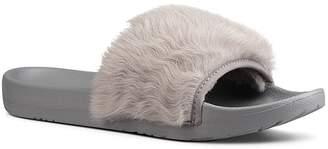 UGG Royale Shearling Pool Slide Sandals