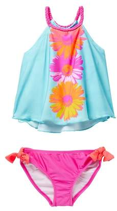 Love U Lots Daisies Tankini Two-Piece Swimsuit Set (Toddler & Little Girls)