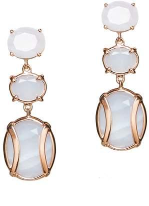 Alexandra Alberta - Lexington Light Blue Earrings