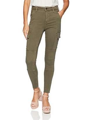 Joe's Jeans Women's Charlie HIGH Rise Skinny Ankle Cargo