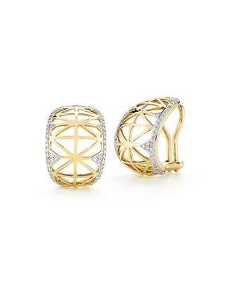 Ivanka Trump Liberté Diamond Huggie Hoop Earrings $3,280 thestylecure.com