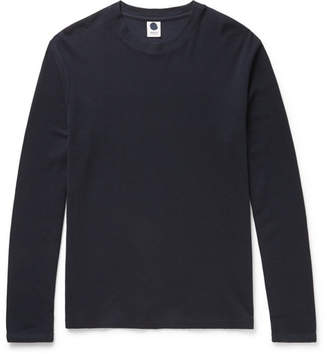 Clive NN07 Waffle-Knit Cotton And Modal-Blend T-Shirt