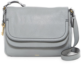 Fossil Peyton Large Leather Crossbody $228 thestylecure.com