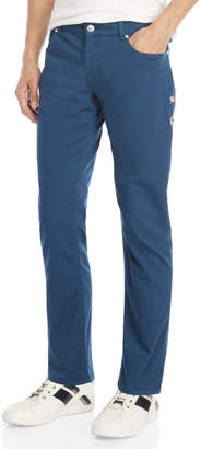 Versace Blue Solid Tone Jeans